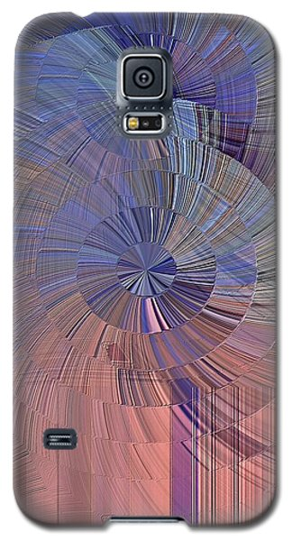 Pink, Blue And Purple Galaxy S5 Case