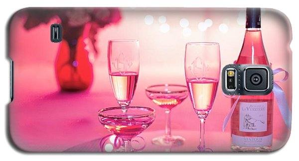 Pink Champagne Galaxy S5 Case