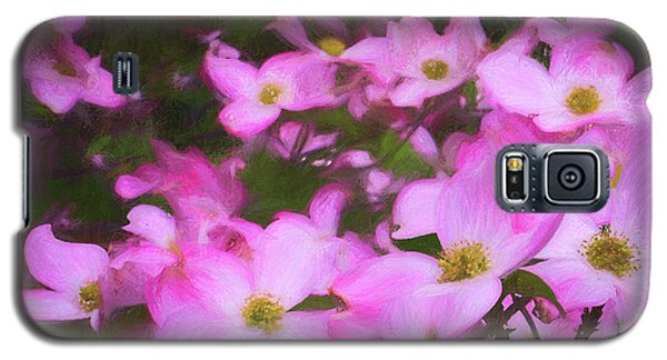 Pink Dogwood Flowers  Galaxy S5 Case