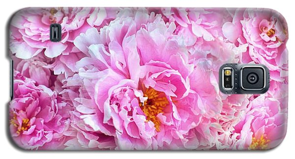 Pink Flowers Everywhere Galaxy S5 Case