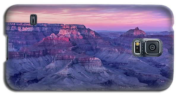 Pink Hues Over The Grand Canyon Galaxy S5 Case