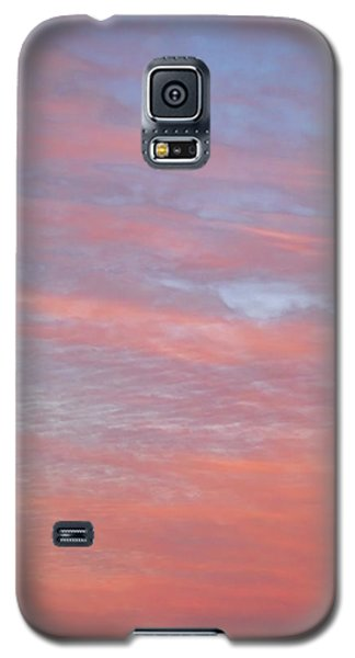 Pink In The Sky Galaxy S5 Case