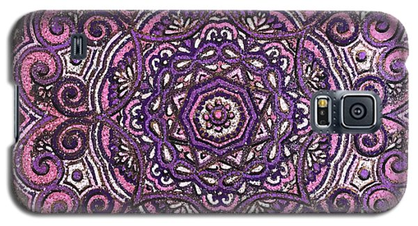 Pink Mandala Galaxy S5 Case