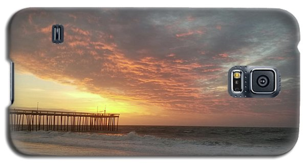 Pink Rippling Clouds At Sunrise Galaxy S5 Case