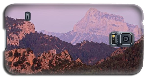 Pink Skies And Alpen Glow In The Anisclo Canyon Galaxy S5 Case