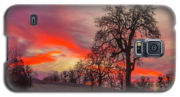 Pink Sunrise Galaxy S5 Case