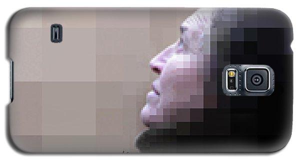 Pixel Portrait Galaxy S5 Case