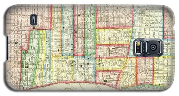 Plan Of Philadelphia, 1860 Galaxy S5 Case