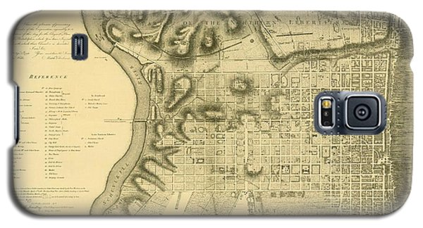 Plan Of The City Of Philadelphia And Its Environs Shewing The Improved Parts, 1796 Galaxy S5 Case