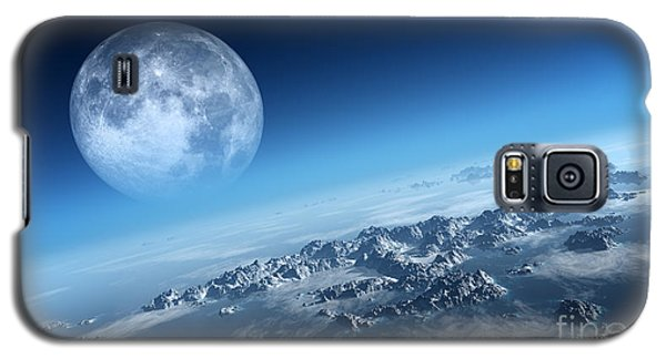 Icy Galaxy S5 Case - Planet Earth Icy Ocean And Rocky by Johan Swanepoel