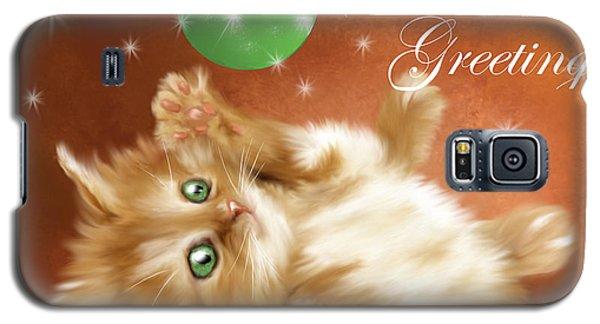 Playful Tabby Galaxy S5 Case
