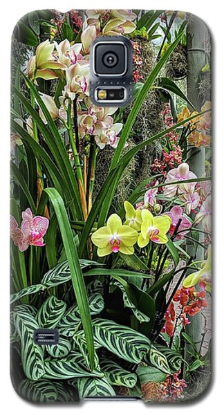 Plentiful Orchids Galaxy S5 Case