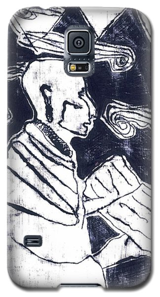 Poet Reading To Wind Clouds Otdv3 13 Galaxy S5 Case