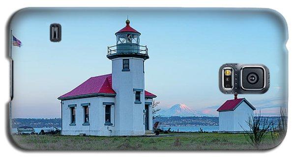 Point Robinson Lighthouse At Maury Island, Wa Galaxy S5 Case
