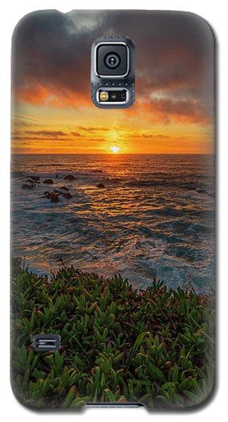 Pomo Bluffs Sunset - 2 Galaxy S5 Case