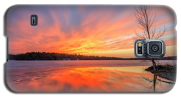 Pond Ablaze Galaxy S5 Case