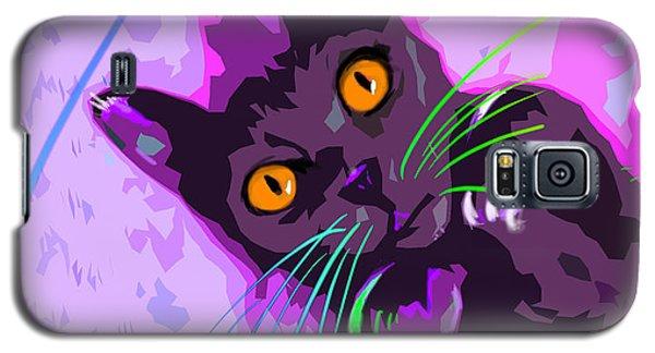 Pop Cat Angel Galaxy S5 Case