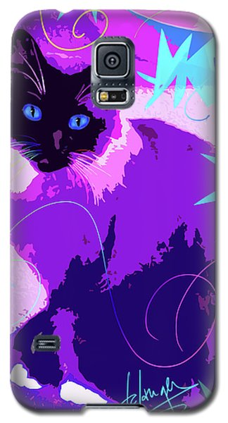 Pop Cat Cocoa Galaxy S5 Case