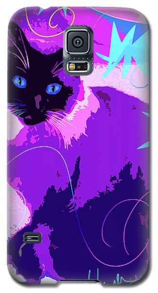 Pop Cat Cocoa Galaxy S5 Case