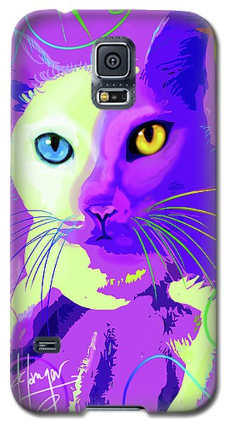 pOp Cat Cotton Galaxy S5 Case