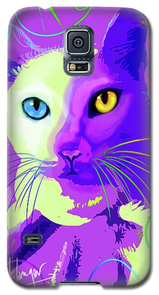 pOp Cat Cotton Galaxy S5 Case
