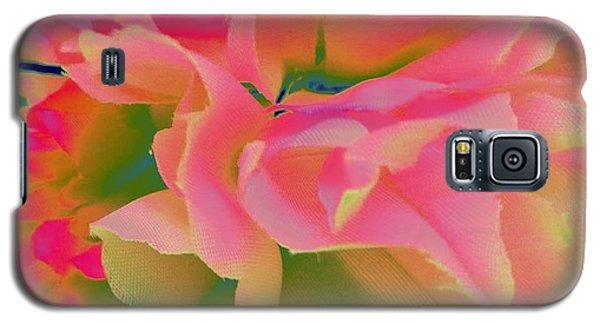 Pop Peony Petals Galaxy S5 Case