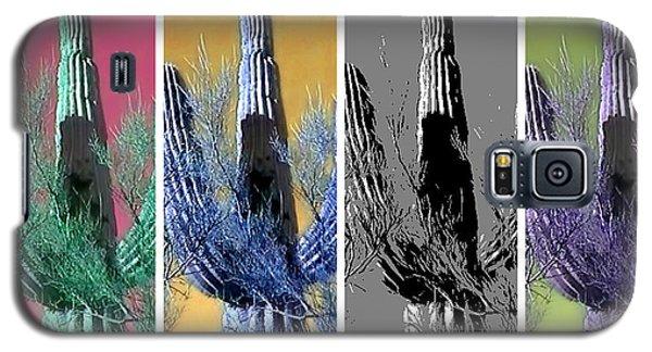 Pop Saguaro Cactus Galaxy S5 Case