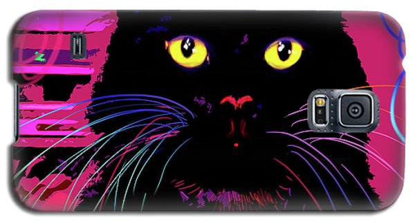 pOpCat Morticia Galaxy S5 Case