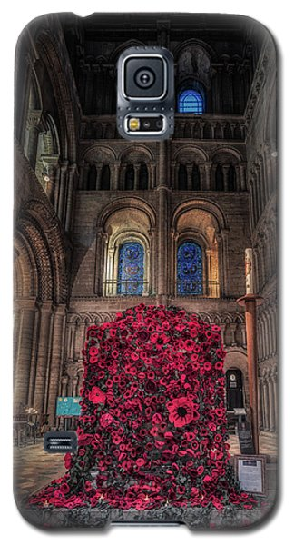 Poppy Display At Ely Cathedral Galaxy S5 Case