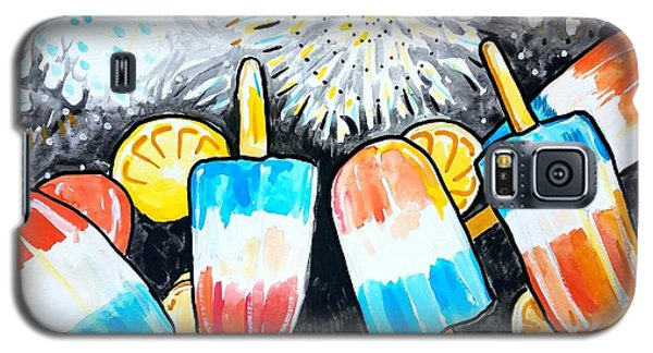 Popsicles And Fireworks Galaxy S5 Case