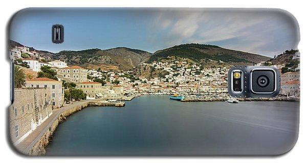 Port At Hydra Island Galaxy S5 Case