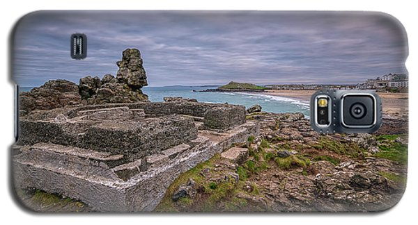 Porthmeor Beach January View Galaxy S5 Case