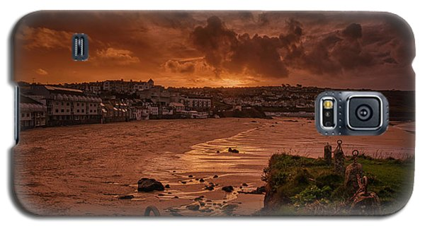 Porthmeor Sunset 2 Galaxy S5 Case