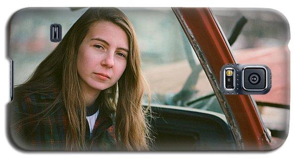 Portrait In A Truck Galaxy S5 Case