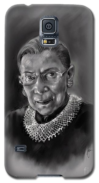 Portrait Of Ruth Bader Ginsburg Galaxy S5 Case