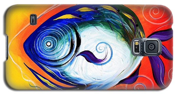 Positive Fish Galaxy S5 Case