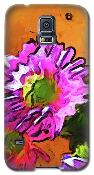 Posy Of Pink And Green Daisies Galaxy S5 Case