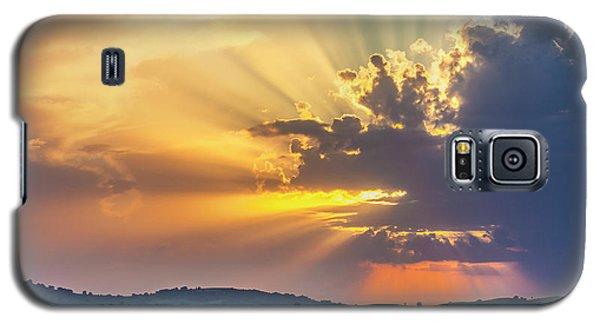 Powerful Sunbeams Galaxy S5 Case