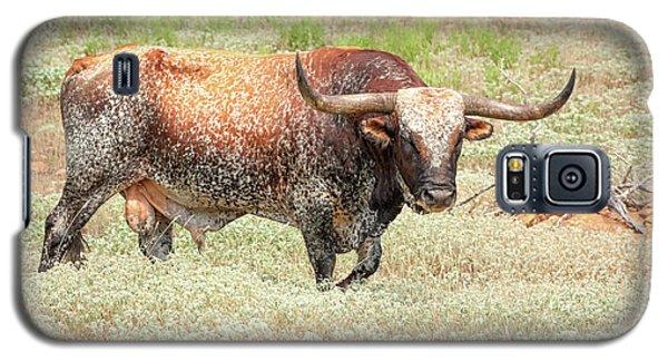 Prairie Longhorn Galaxy S5 Case