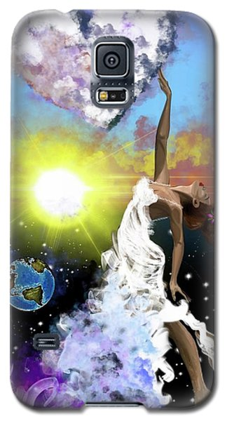 Galaxy S5 Case - Prayer Before The Sun Sets by Artist RiA