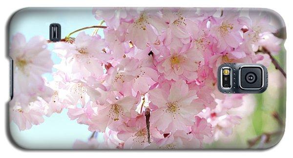 Pretty Pink Blossoms Galaxy S5 Case