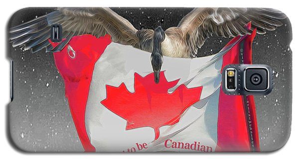 Proud To Be Canadian Galaxy S5 Case