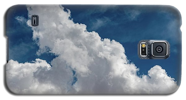 Puffy White Clouds Galaxy S5 Case