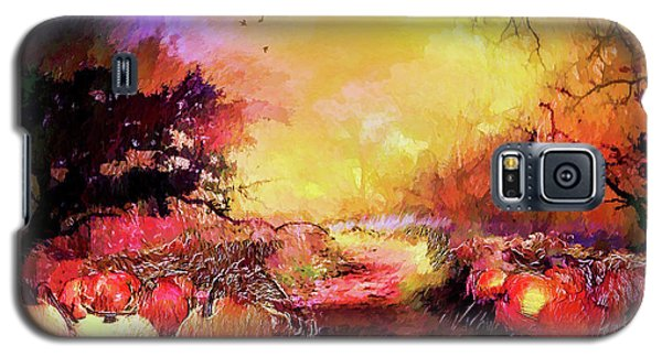 Pumpkin Patch Galaxy S5 Case