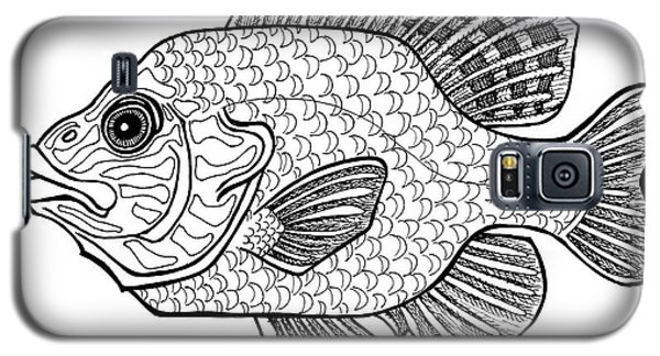 Pumpkinseed Fish Galaxy S5 Case