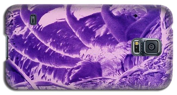 Purple Abstract, Octopus Galaxy S5 Case