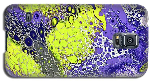 Purple And Yellow Galaxy S5 Case