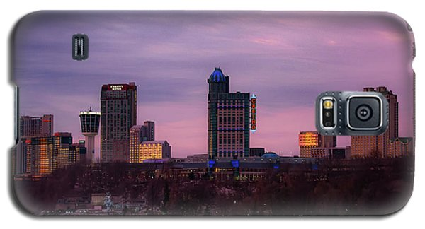 Purple Haze Skyline Galaxy S5 Case