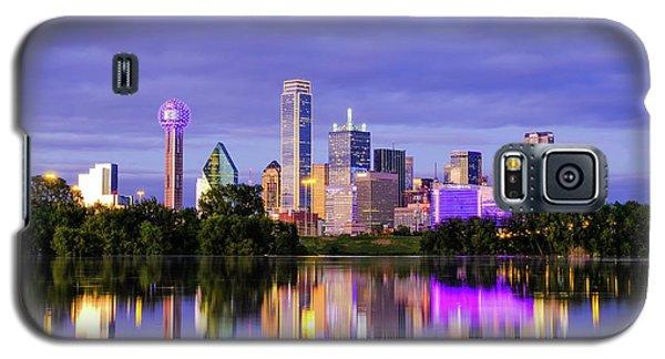 Purple Rain City Of Dallas Texas Galaxy S5 Case