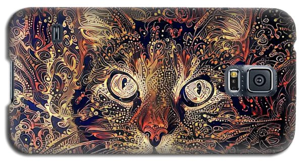 Mystic In Paisley Galaxy S5 Case